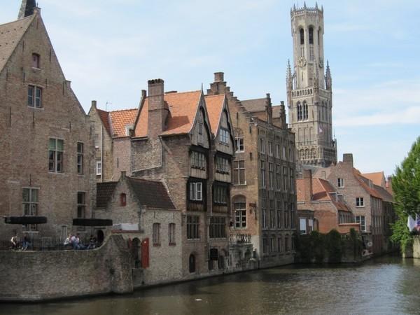 A rômantica Bruges