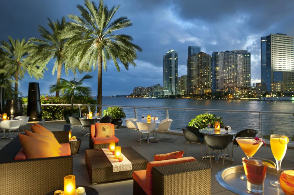 Uma noite de rainha no Mandarin Oriental de Miami