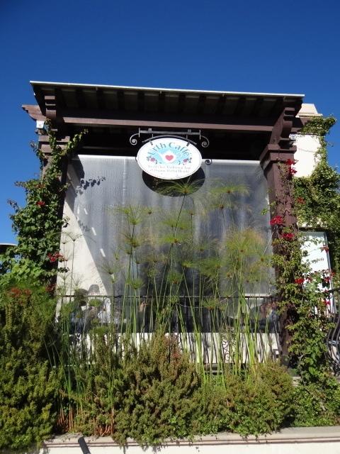 café orgânico em LA