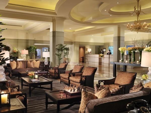 hotel de luxo em los angeles