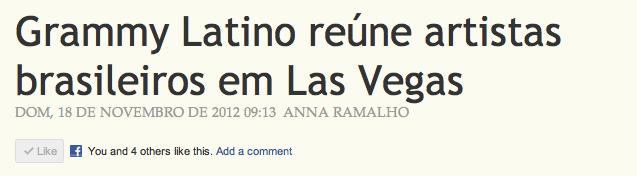 grammy latino