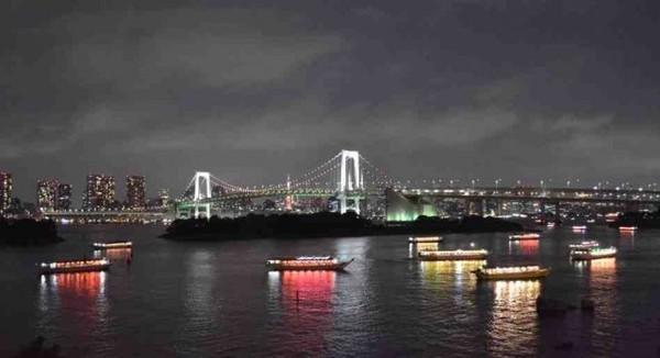 Tóquio vista de Odaiba