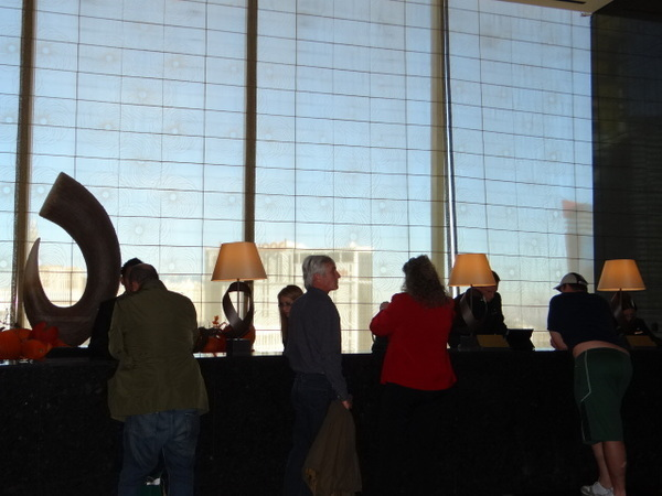 lobby mandarin oriental las vegas
