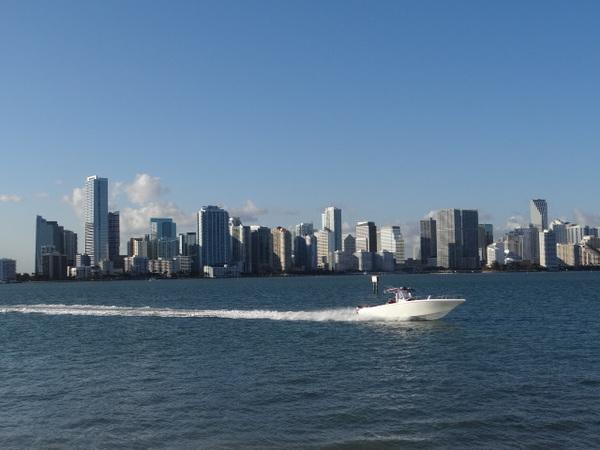 Miami vista de Key Biscayne