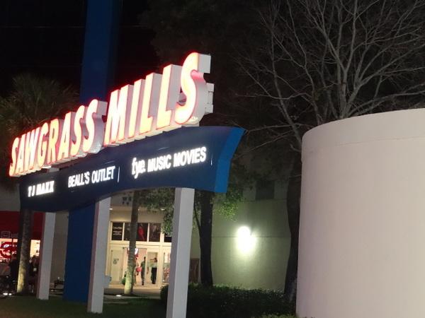Sawgrass Mall - o melhor shopping de Miami