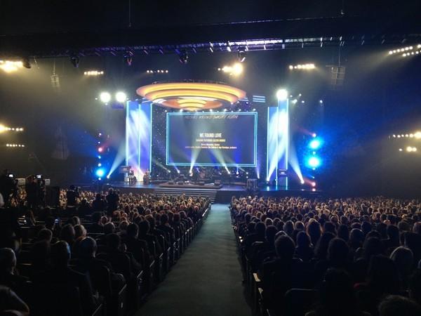 Grammy americano, em Los Angeles