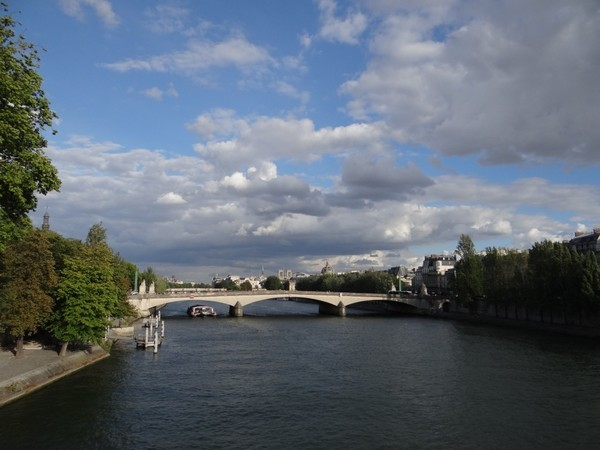 Vista deslumbrante do Sena