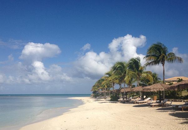 A praia perfeita!