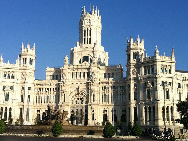 Banco de Espãna em Madri, Espanha