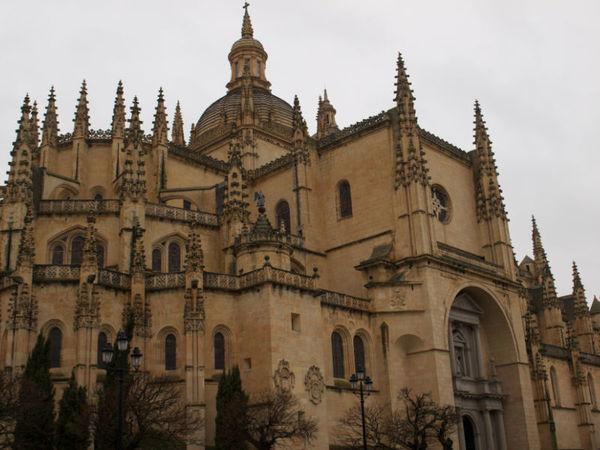 Catedral de Segovia na Espanha