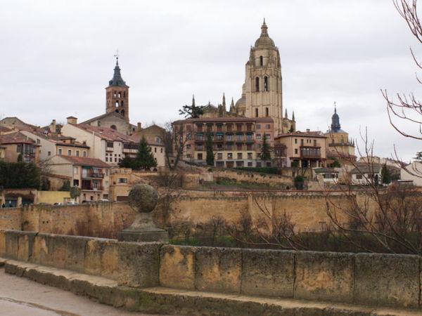 Cidade medieval de Segovia, Espanha