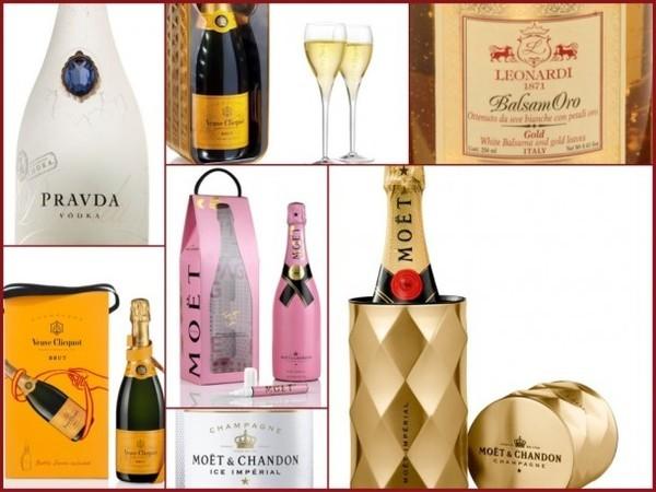 Vinhos e champanhe para presente