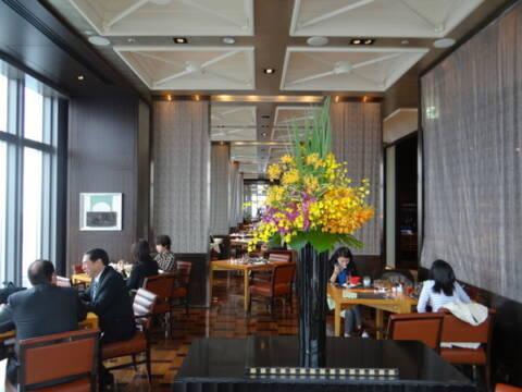 hotel de luxo em Tóquio - restaurante