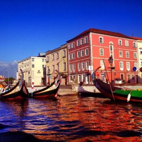 passeios de barco em Aveiro