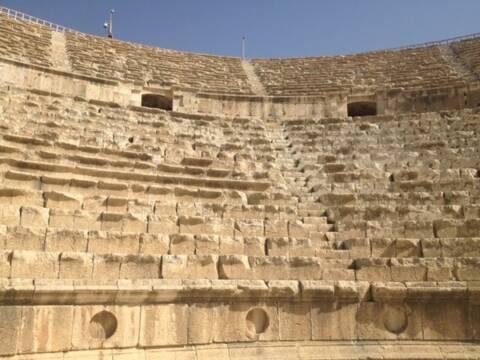 ruínas de Jerash