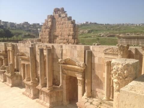 cidade greco-romana na Jordânia