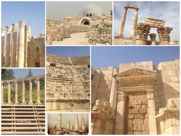 sítio arqueológico perto de Amã