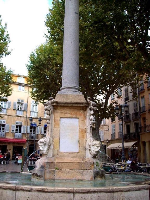 centro histórico de Aix en Provence
