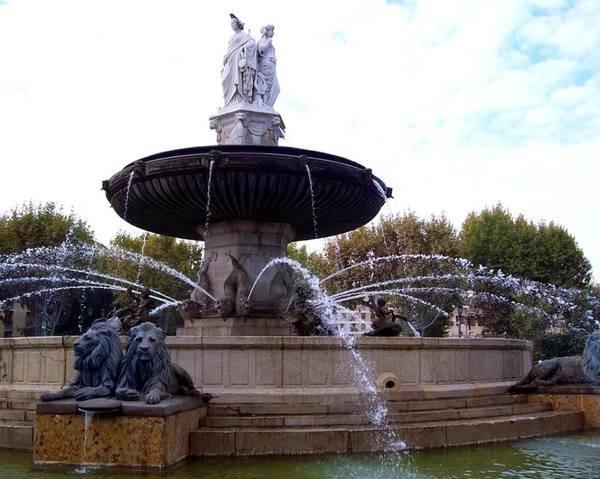 fontes de Aix en Provence