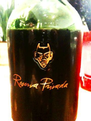 vinho reserva privada