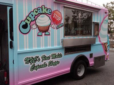 food trucks de cupcakes