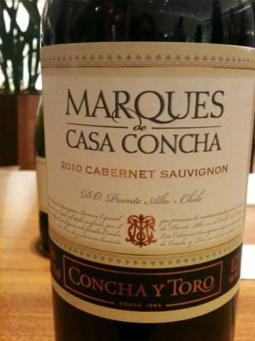 vinho da região do Maipo
