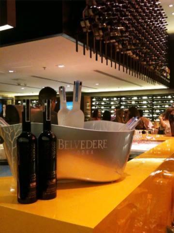Loja de vinhos no Village Mall