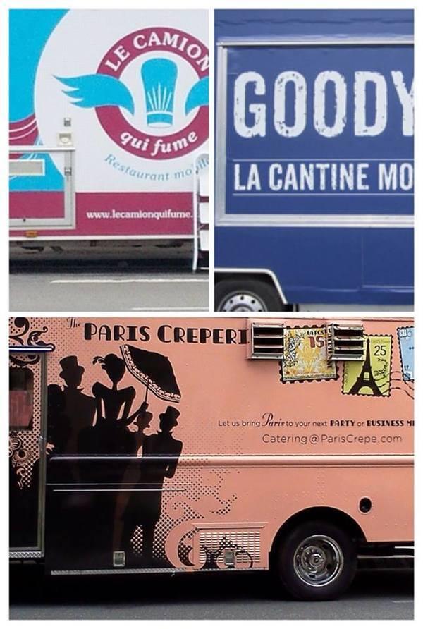 food truck em Paris