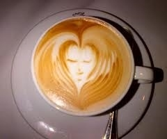 cappuccino decorado