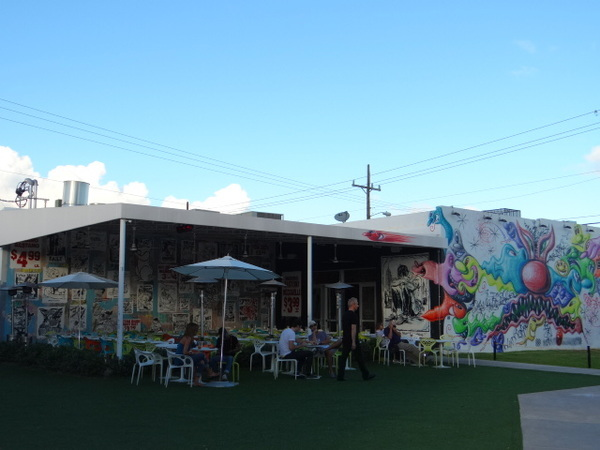 Restaurantes no Wynwood District, em Miami