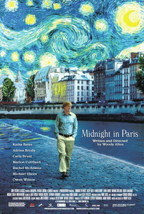 Midnight in Paris by woody allen