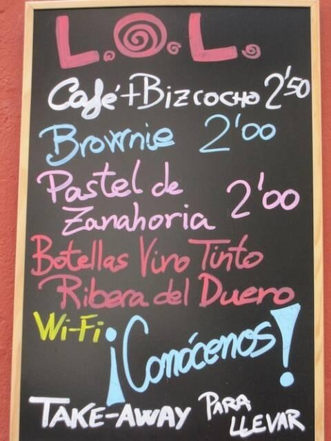 cartaz em espanhol