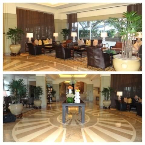 lobby Fairmont