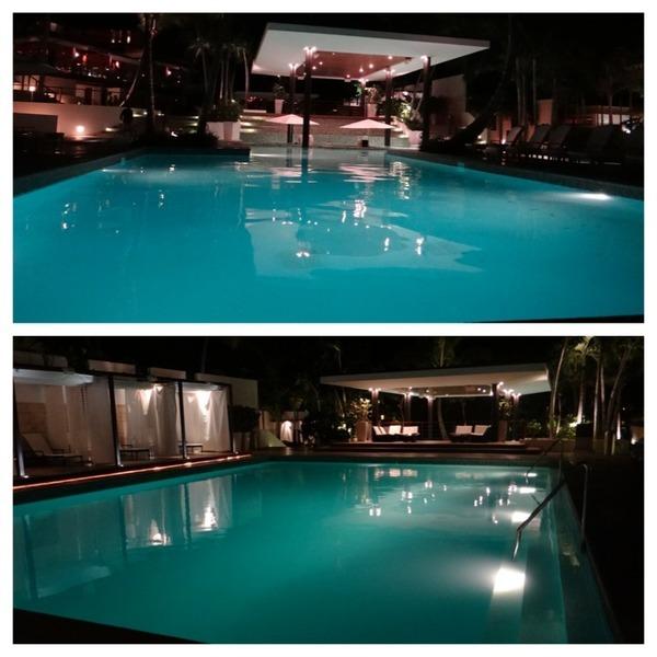 piscina casa de campo