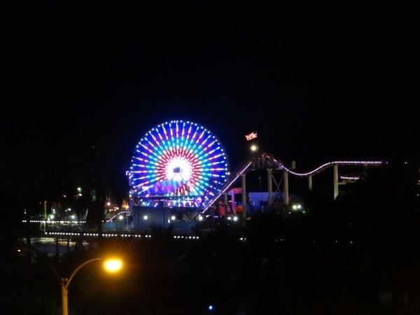 roda gigante iluminada