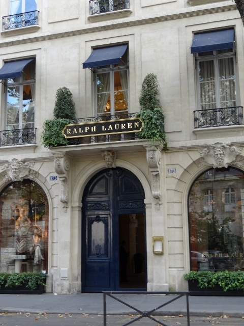 Ralph Lauren, Paris, França