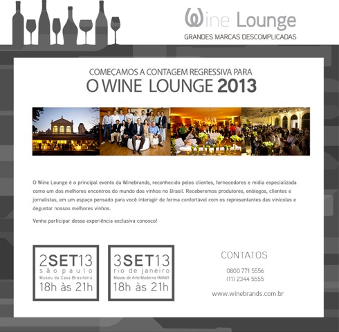Wine Lounge, Winebrands