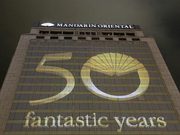 50 anos Mandarin Oriental Hong Kong