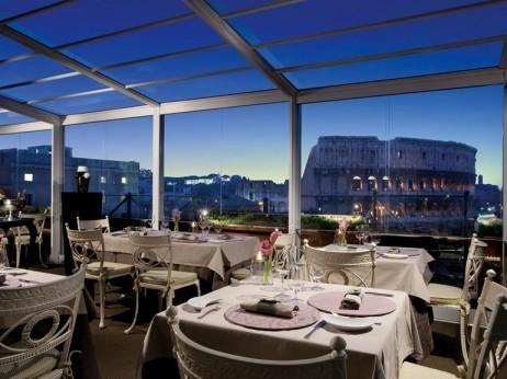 restaurantes em roma