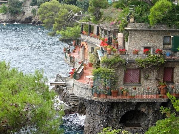 luxo na riviera italiana
