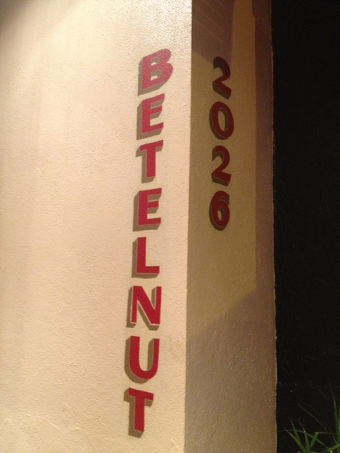 Betelnut, San Francisco