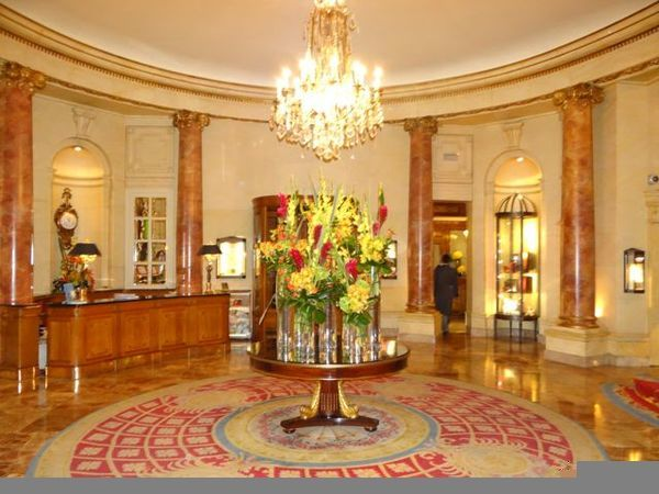 lobby Ritz Madrid