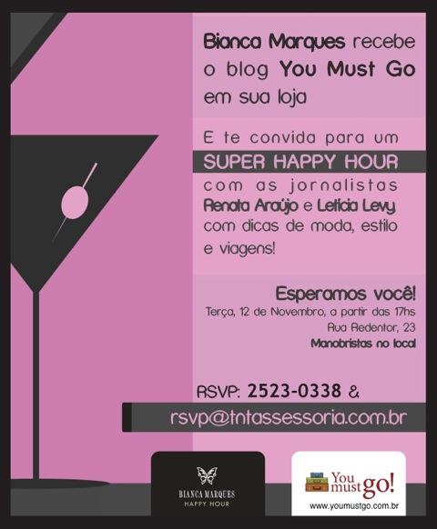 Convite Bianca Marques