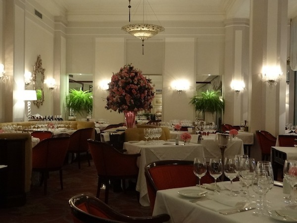 Ano novo no Rio: restaurante do Hotel Copacabana Palace