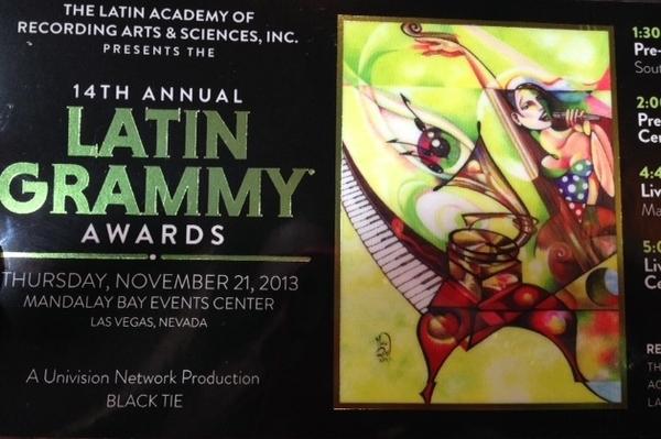 ingresso Grammy Latino 2013