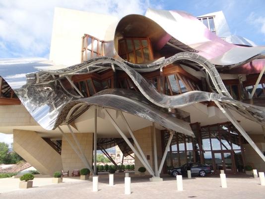 Marqués de Riscal - hotel de vinho na Espanha