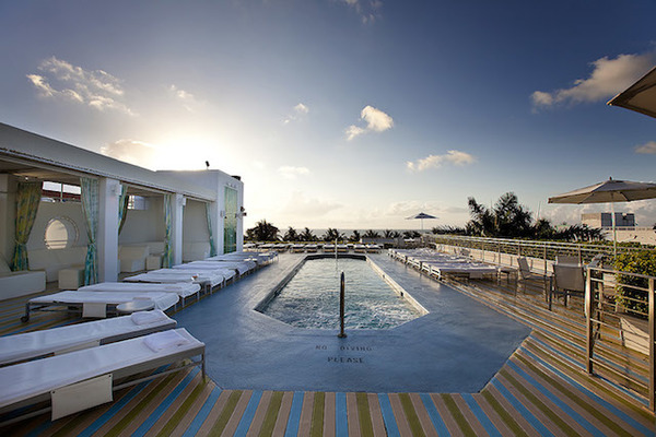 The Hotel, um hotel boutique em South Beach
