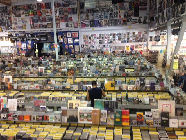 Amoeba Music, California