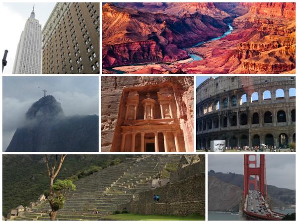 7 maravilhas do mundo moderno
