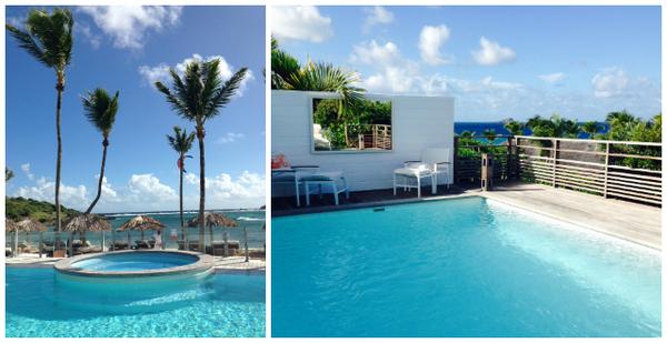Ghanahani Hotel & Spa piscinas